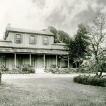 Hereford House 1930, where Tawell lived from 1831 to 1835 (image: University of Sydney Archives)